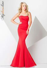 Tony Bowls 115704 Long Evening Dress ~LOWEST PRICE GUARANTEE~ NEW Authentic
