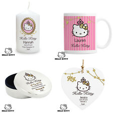 Personalised Hello Kitty Chic Gifts. Birthday Sister Mum Aunt Unique Gift Idea