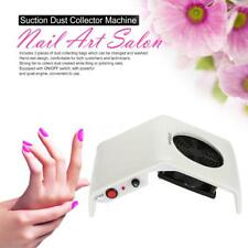 2 Colors 220V/110V 30W Nail Art Suction Dust Collector Machine Salon Tool 4R57