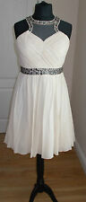 Little Mistress Embellished Prom Dress Size 14 RRP 74