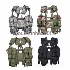 OUTDOOR TACTICAL COMBAT LOAD BEARING LBV 88 VEST MULTI COLORS