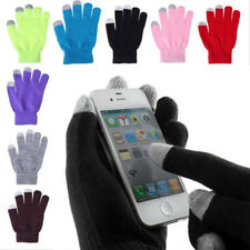 Ladies & Mens Touchscreen Soft Gloves Warm Magic Touch Smart-Iphone Tablet Ipad