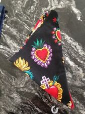 Skull and Rock A Billy Bandanas/Headbands-Full and Triangles in multiple prints