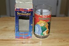 POCAHONTAS JOHN SMITH DISNEY BURGER KING COLORS OF THE WIND PLASTIC CUPS GLASSES