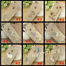 Shine Bling Transparent Clear Crystal Diamonds PC Hard Back Case Cover Skin #B-1