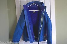 NWT The North Face Women's Pibba Insulated Jacket Coastline Blue Size XLARGE
