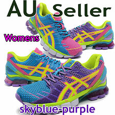 ASICS GEL KINSEI 4 WOMENS skyblue-purple / Limited Edition / Running Shoes