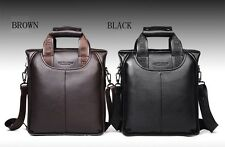 Hot Fashion Men's Leather bag  Handbag Messenger Shoulder Briefcase Laptop Bag