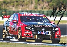 James Courtney Signed 6x4 or 8x12 Photo PRINT V8 Supercars HRT HOLDEN TOLL