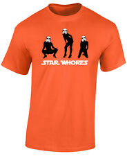 STAR WARS T SHIRT - STAR WHORES - NOVELITY STORM TROOPER T SHIRT - GREAT GIFT