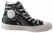 Converse CT All Star Hi Top Womens Canvas Trainers Boots Black White 547253C U17