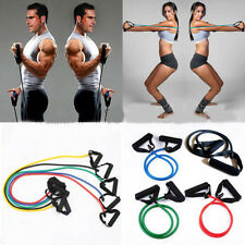 Home Workout Latex Resistance Trainer Exerciser Bands Fitness Training Yoga Tube