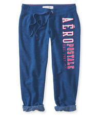 Aeropostale Womens Slim Cinch Capri Athletic Sweatpants