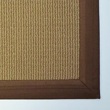 Home Dynamix Pure Floor Mat Area Accent Rug: Brown, Non-Skid Backing, 2 Sizes