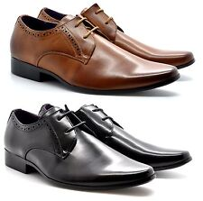New Men's Italian Style Classic Lace-Up Formal Dress/ Suit Shoes UK SIZES 6-11