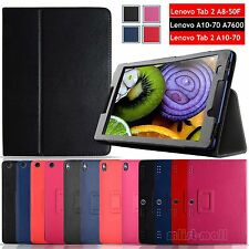 "PU Leather Stand Protective Cover Case For 8"" 10.1"" Lenovo Tab / Tab 2 Tablet PC"