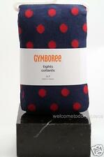 Gymboree Homecoming Kitty Girls Polka Dot Print NAVY Tights 3 4 5 7 yrs NEW NWT