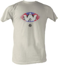 T-Shirts Sizes S-2XL New Mens WFL Dubba TShirt in Vintage White