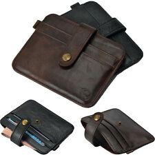 Ultra Slim Men Leather Wallet Credit ID Card Holder Case Purse Bag Pouch Wallets