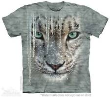 ICICLE SNOW LEOPARD ADULT T-SHIRT THE MOUNTAIN