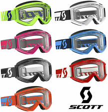 2016 SCOTT MX RECOIL XI MOTOCROSS GOGGLES solid enduro bike mtb tear off new