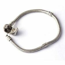 multi-size charm beads lots Silver Plated for snake chain european bracelet