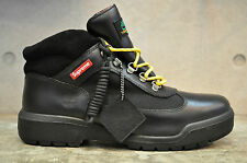 Supreme x Timberland Field Boots - Black Smooth