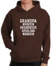 GRANDPA Is Is My Name GRANDKIDS SPOILING Is My Game Funny Hoodie Gift