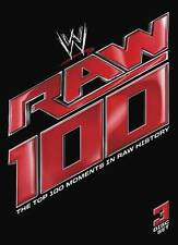 WWE Wrestling RAW 100 Moments in RAW History (DVD) Usually ships within 12 hrs!!