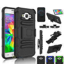 Armor Rugged Belt Clip Holster Case Cover For Samsung Galaxy Grand Prime G530