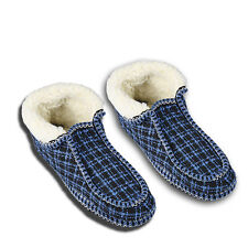 Gents Mocassin Fleece Slippers