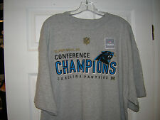 CAROLINA PANTHERS 2015 NFC CONFERENCE CHAMPIONS ADULT SHORT SLEEVE TEE  T-SHIRT