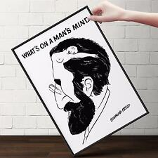 SIGMUND FREUD Pop Art Poster | Cubical ART | Gifts | FREE Shipping