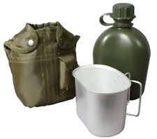 canteen kit 3 piece olive drab cup canteen and cover rothco 1140