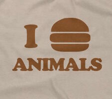I EAT ANIMALS T-SHIRT funny saying sarcastic food humor novelty humor mens bacon