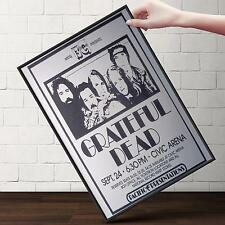 GRATEFUL DEAD CONCERT Poster | Cubical ART | Gifts For Guys | FREE Shipping