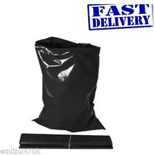 EXTRA STRONG HEAVY DUTY BLACK  RUBBLE BAGS/SACKS BUILDERS