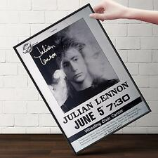 JULIAN LENNON CONCERT Poster | Cubical ART | Gifts For Guys | FREE Shipping