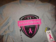 UNDER ARMOUR POWER IN PINK BREAST CANCER LOOSE FIT SHIRT XL L NWT $$$$
