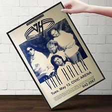 VAN HALEN CONCERT Poster | Cubical ART | Gifts For Guys, Geeks | FREE Shipping