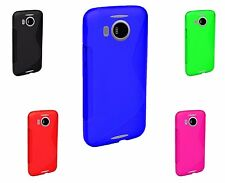 S-Line Wave TPU Soft Silicone Gel Grip Back Case Cover For Nokia Lumia 950 XL UK
