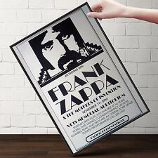 FRANK ZAPPA CONCERT Poster | Cubical ART | Gifts For Guys, Geeks | FREE Shipping