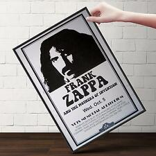 FRANK ZAPPA LIVE CONCERT Poster | Gifts For Guys, Geeks | FREE Shipping