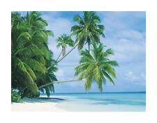MALDIVES PALM TREES  Poster | Cubical ART | Gifts For Guys | FREE Shipping