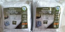 BIDDEFORD ELECTRIC HEATED MATTRESS PAD TWIN OR  FULL 1 CONTROLLER, QUEEN DUAL