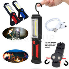New Hook Magnetic Hanging 36&5 LED Inspection Lamp Torch Camping Work Light