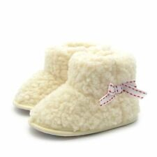 Toddler Kid Baby Winter Booties Cashmere Warm Soft Sole Snow Booties Shoes Gifts