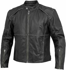 River Road Mens Rambler Leather Jacket 2014