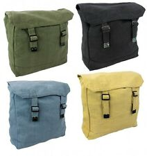 WEBBING BACKPACK rucksack bag army military retro cotton canvas web