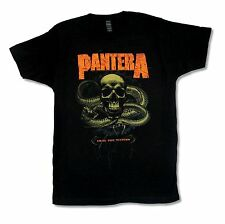 """PANTERA """"DRAG THE WATERS"""" BLACK T-SHIRT NEW OFFICIAL ADULT METAL BAND MUSIC"""